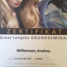 Great Lengths Zertifikat Willemsen