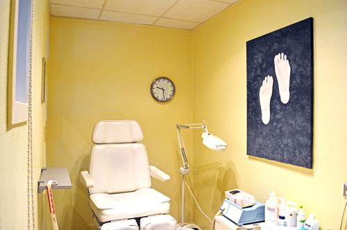 Salon Haar Aktuell Florastraße 99, Gelsenkrichen, Fußpflegezimmer